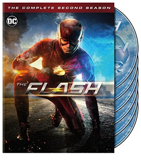 Dvd Series The Flash Complete Season 1 2 3 the flash staffel 2 deja box dvd cover labels 2015 r2 german custom