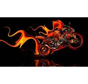 Kawasaki Side Super Fire Abstract Bike 2014  El Tony