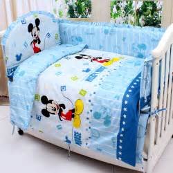 Mickey Mouse Baby Crib Bedding Shop Popular Mickey Mouse Crib Bedding Sets From China Aliexpress