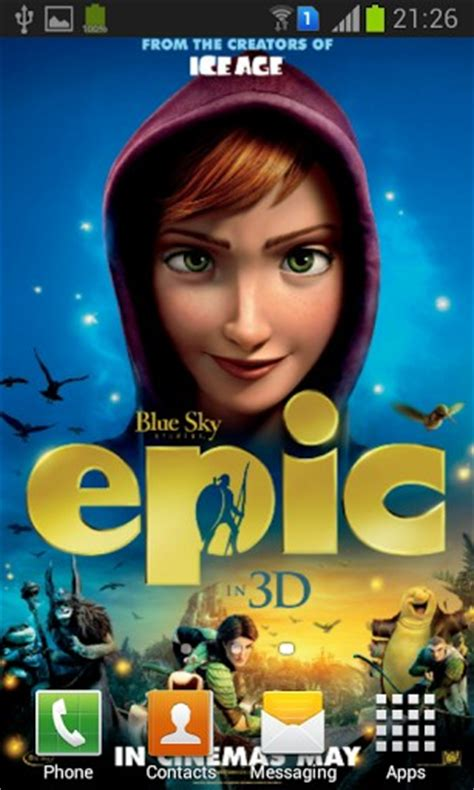 animated film epic download epic animated movie wallpaper app for android