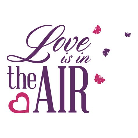 imagenes love is in the air vinilos decorativos frases love is in the air