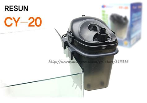 Filter External Resun Cy20 free shipping resun aquarium external canister filter 60l cy 20 fish tank ac 220v with filter