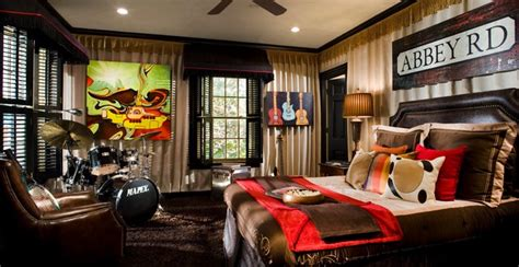 the beatles bedroom beatles room at atlanta showhouse contemporary bedroom