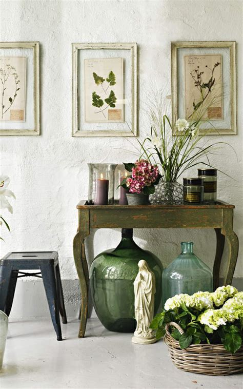 botanical inspired home decor designs
