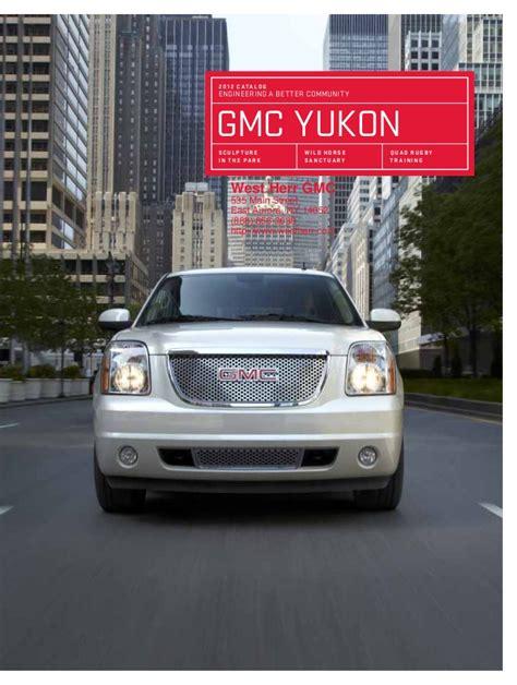 ny gmc dealers 2012 gmc yukon for sale ny gmc dealer near buffalo