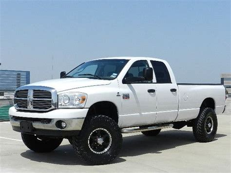 Buy used 2008 Dodge Ram 3500 Lifted 4X4 Cummins Turbo