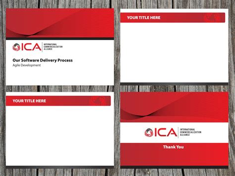 powerpoint design canada serious modern stationery design for mario thomas by