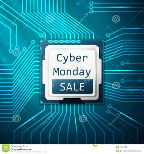 cyber monday desk sale cyber monday sale discount clearance sale concept royalty