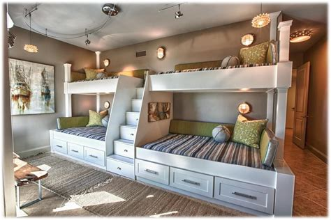 good loft bedroom design 53 in kids bedroom designs with bunk beds built into wall custom bunk beds built into