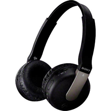 Sony Wireless Headset Dr Btn200m sony dr btn200m bluetooth wireless headphones drbtn200 blk b h