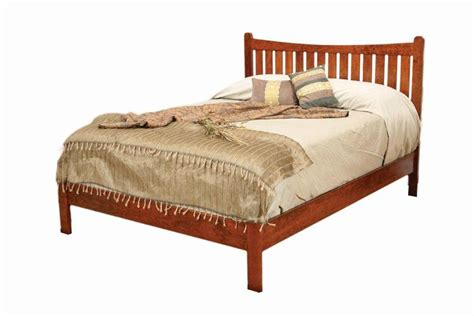 Footboard Bed by Amish Portland Low Footboard Bed From Dutchcrafters