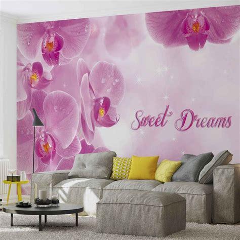 carta da parati fiori carta da parati fiori orchidee rosa europosters it