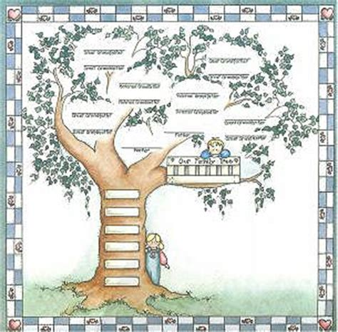 printable family tree for scrapbook bo bunny family tree scrapbook paper supplies and gifts