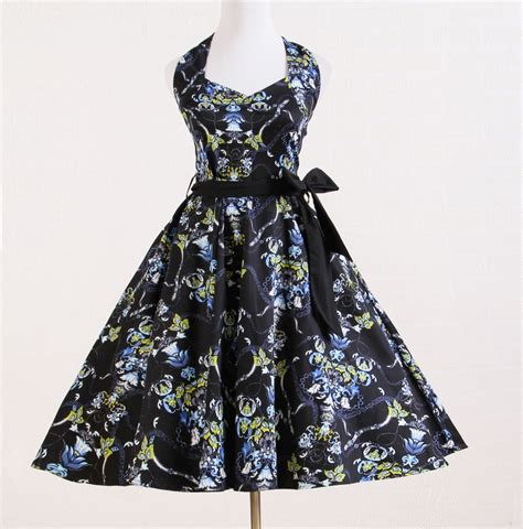 retro vintage inspired fashion a line dresses uk 1950s