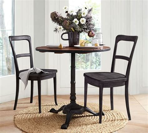 pottery barn bistro table cline dining chair pottery barn
