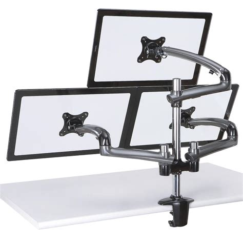 triple monitor desk mount product