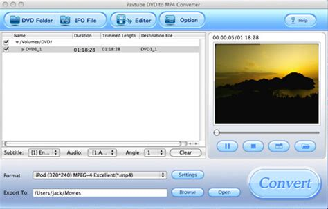 dvd format converter mac how to convert your dvd to mp4 on mac