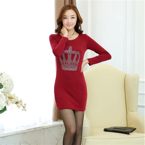 Dress Mini Korean 2014 new arrival sleeved dress korean fashion