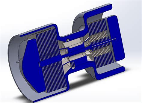 Turbine Tesla Tesla Turbine Jet Blendercad Solidworks 3d Cad Model