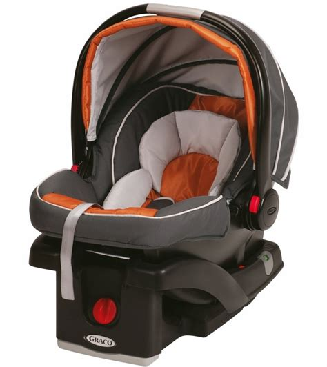 graco click connect infant car seat graco snugride click connect 35 infant car seat tangerine