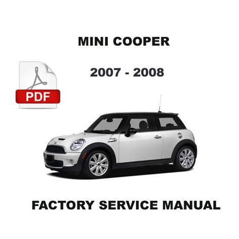2007 mini cooper owners manual 2007 mini cooper workshop manual free download 28 2006