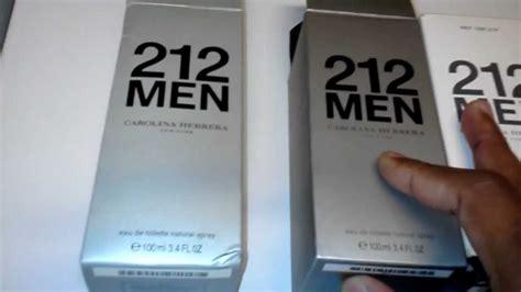 212 Carolina Herrera Nyc Tester Original Parfum 101 real 212 vs 212
