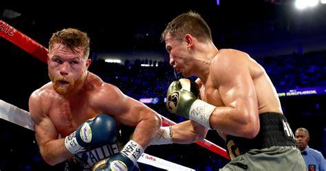 canelo alvarez  gennady golovkin post fight results