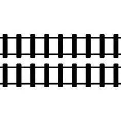printable railroad tracks free high res photoshop brushes train tracks