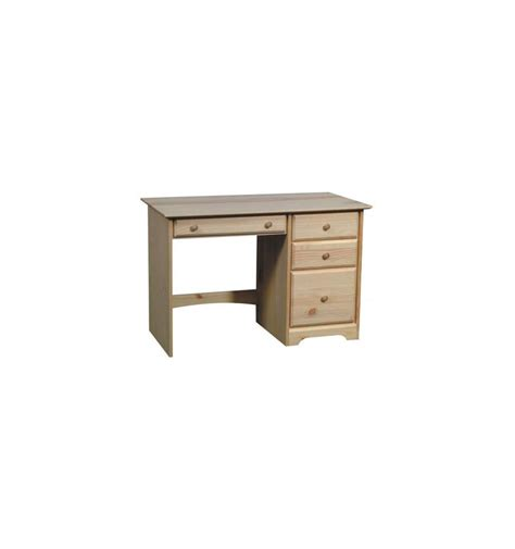 Add A Drawer To A Desk by 45 Inch Afc Shaker 4 Drawer Desk Bare Wood Wood