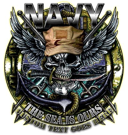 navy sea is ours military shirt military owned clothing