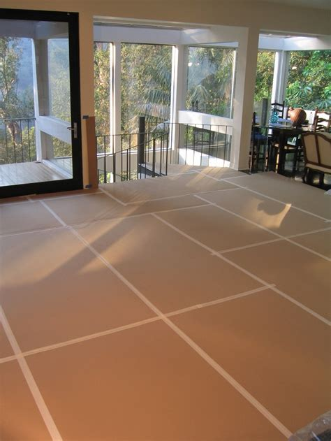 Construction Floor Protection by Floor Protection Board Patrol