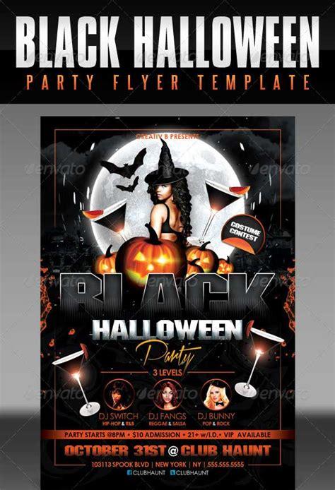 40 best halloween psd party flyer templates 2015