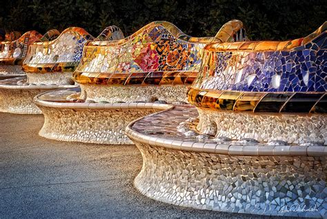 gaudi bench park guell gaudi s bench photograph by artur dabrowski
