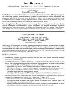 Sle Resume For Purchasing Manager by Chief Procurement Officer Resume Sales Officer Lewesmr