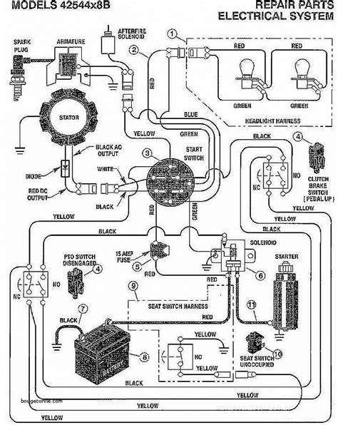 murray starter solenoid wiring diagram wiring diagram