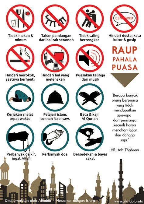 gambar rambu rambu puasa ramadhan blog alhabib