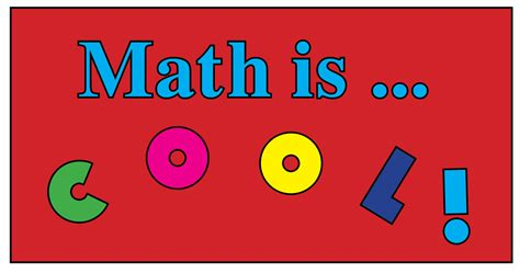 In Mat H by Math In Who Says Math Isn T Cool Learning With