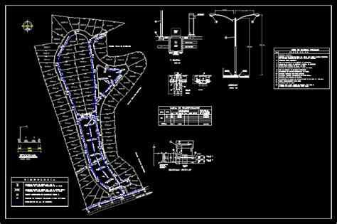 drawings  street lighting  autocad cad  kb