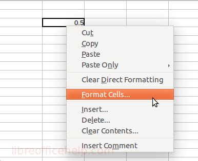 format date libreoffice calc format cells in libreoffice calc libreofficehelp com