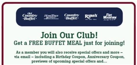 Old Country Buffet Photoasa Bloguez Com Home Country Buffet Coupons