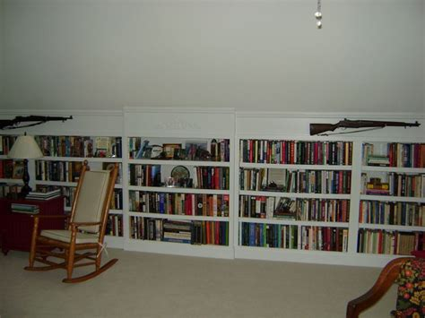 How To Decorate Bookcase Custom Attic Remodeling In The Raleigh Clayton And