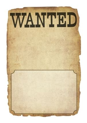 writing a letter for an wanted template wanted poster writing frames and printable page borders