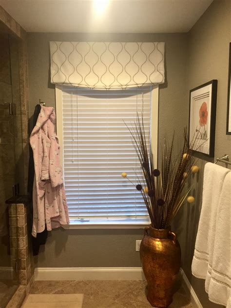 faux roman shade valance furnished  installed  kites