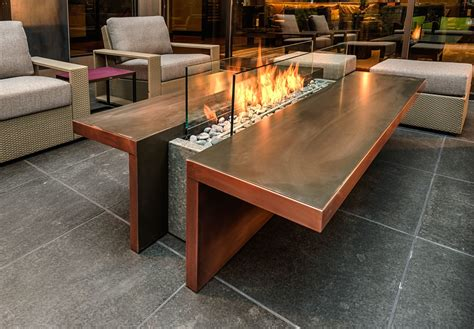 glass outdoor fireplace 18 luxurious outdoor pit design ideas style motivation