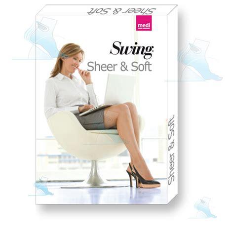 medi swing collant 140 denari medi swing sheer soft color playa