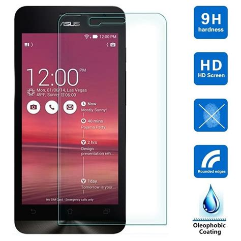 Asus Zenfone 2 5 Kingkong Tempered Glass Original tempered glass front screen protector for asus zenfone 2 laser ze500kl 5 0