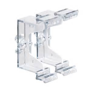 Wood Blinds Valance Clips Shop Levolor 2 Piece Clear Plastic Valance Clips At Lowes Com