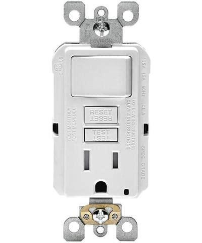 test smartockpro slim gfci combination switch tamper