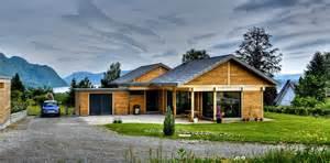 maison bois plain pied savoie