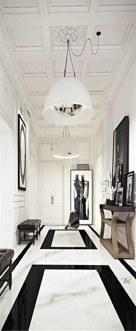 A Witty Entrance In A Parisian Apartment by 25 Bold Flooring Ideas That Make Your Spaces Stand Out